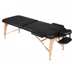 Naipo Portable Massage Table with Wooden Feet